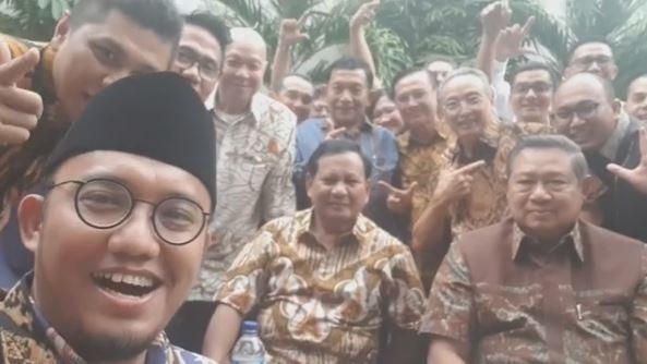 BPN Sebut SBY Sempat Paparkan Survei Prabowo Menang di Jatim