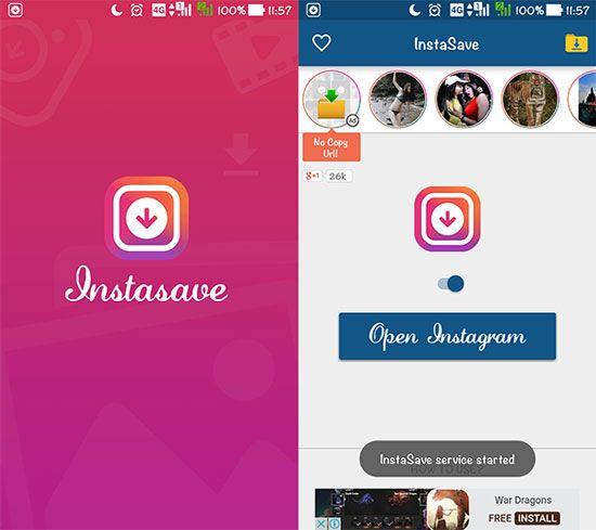 Aplikasi InstaSave