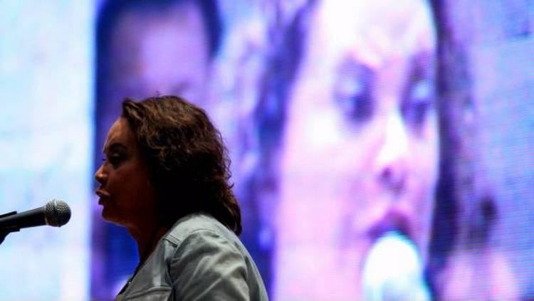 Difunden fotos de los momentos de captura y liberación de Elba Esther Gordillo.