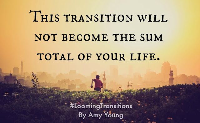 Looming Transitions {Book Review} Are you either preparing for a transition or already weathering one?  In Looming Transitions: Starting and Finishing Well in Cross-Cultural Service, by Amy Young, you'll feel like a good friend is holding your hand as you ride the waves of change.