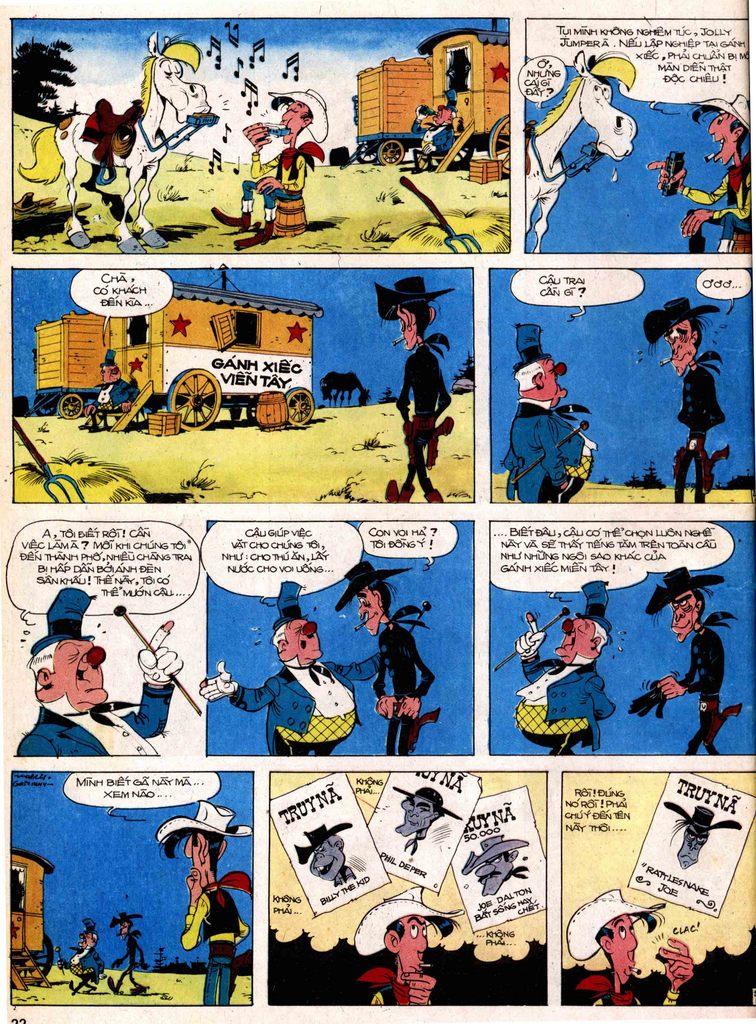 Lucky Luke tap 17 - ganh xiec mien vien tay trang 20