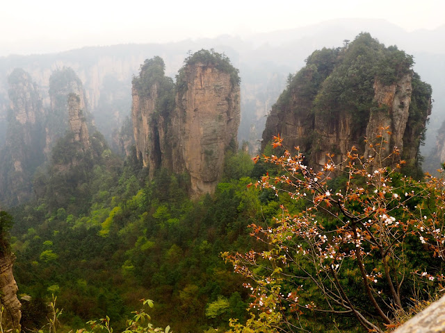 Yellow Stone Village area of Zhangjiajie National Park, China