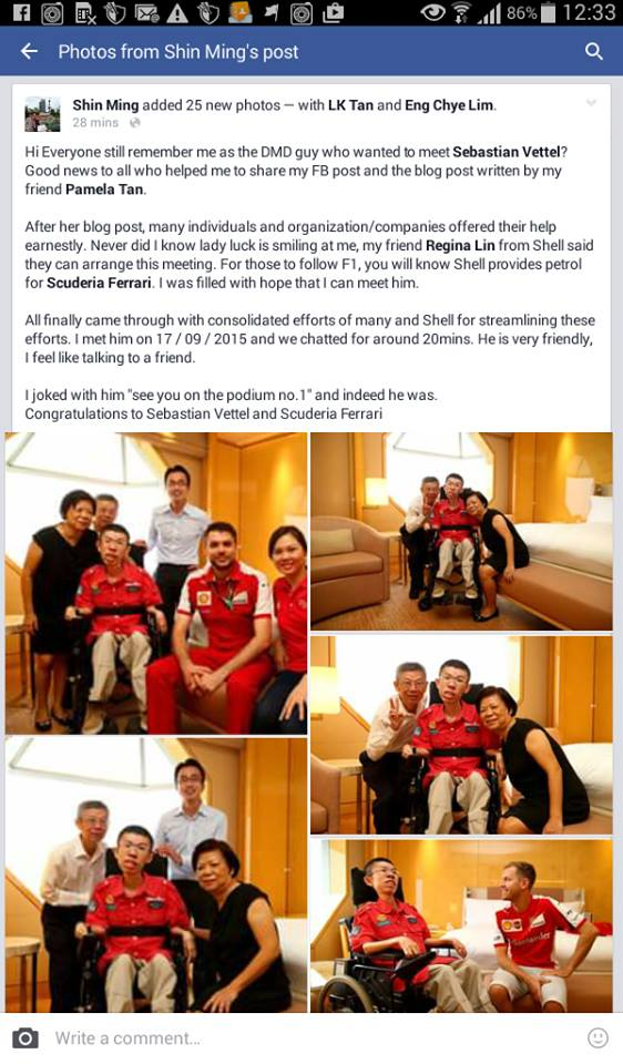 Tan Family Chronicles: His dream came true!