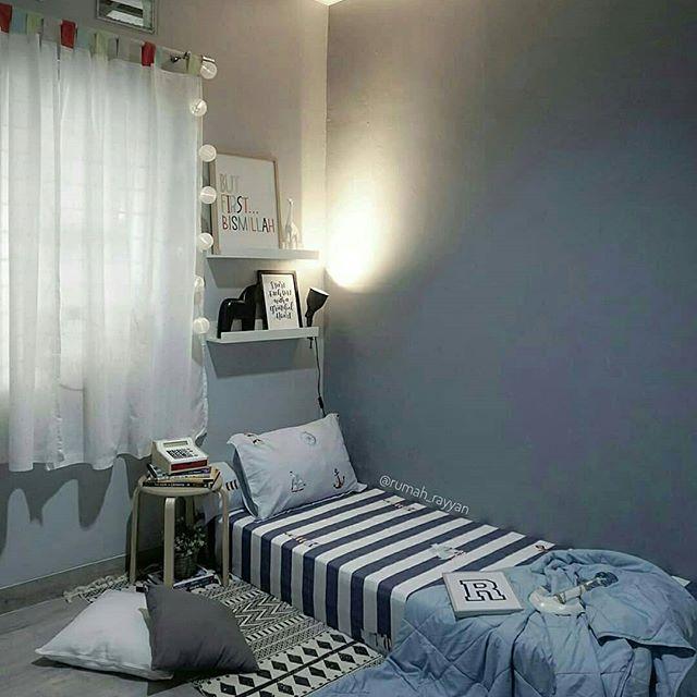 100 Gambar Desain Kamar Tidur Minimalis Ukuran 3x4 Sederhana