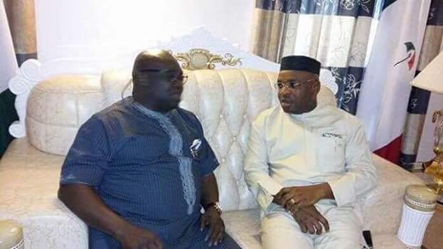 Ikpeazu Condoles His Akwa Ibom Counterpart On The Collapse Of Church Building