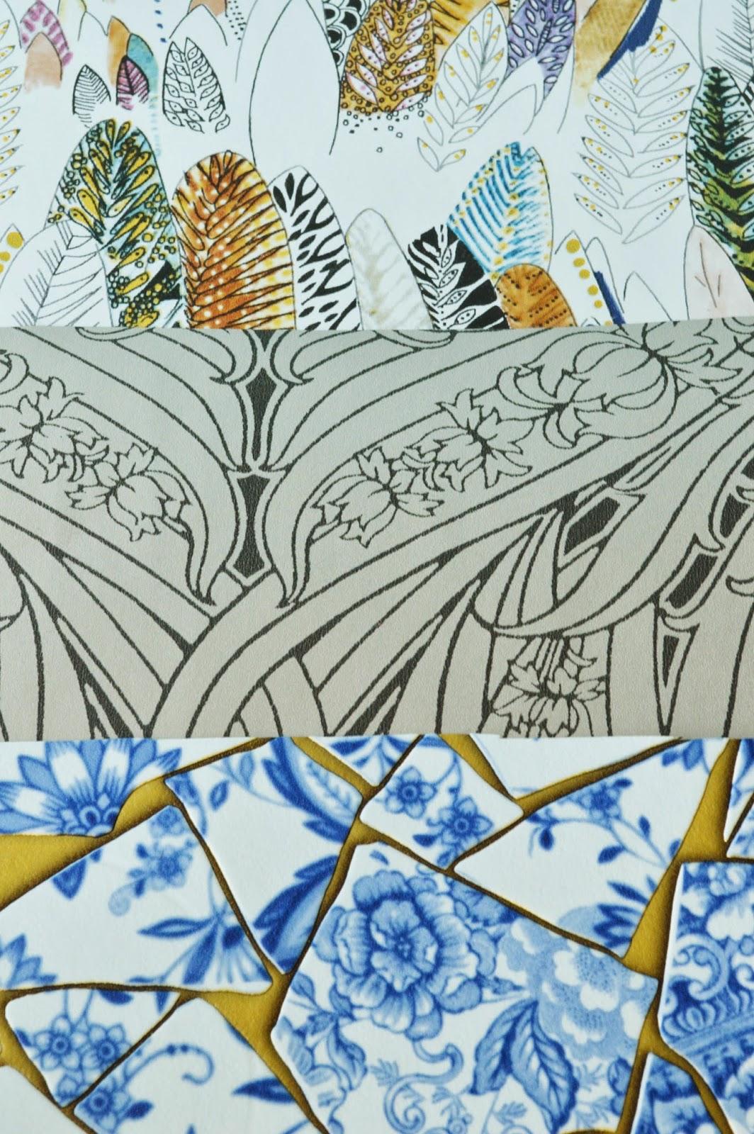 papier peint les tendances 2014 2015 une journ e paris lily 39 s little factory blog diy. Black Bedroom Furniture Sets. Home Design Ideas