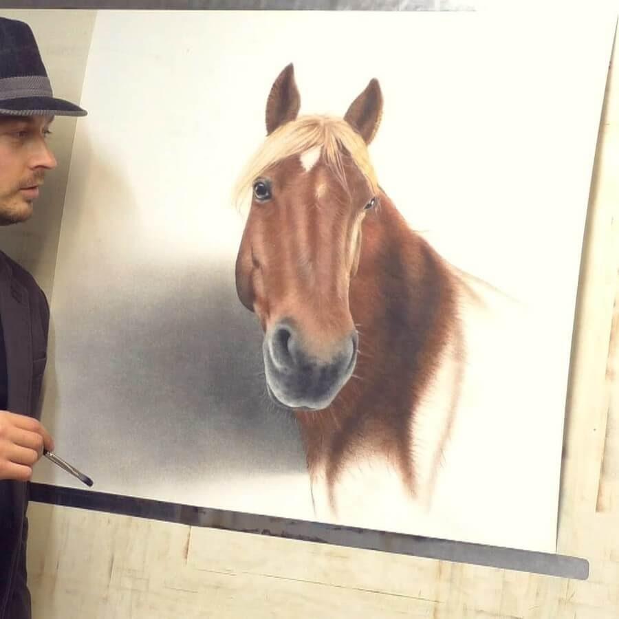 05-Horse-Stefan-Pabst-3D-Art-www-designstack-co