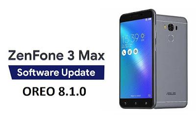 Cara Update Oreo Asus Zenfone 3 Max ZC553KL Manual Tanpa Root