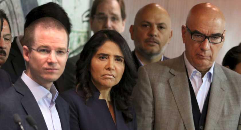 "La coalición ""Por México al Frente"" del PAN-PRD-MC próximo a desaparecer"
