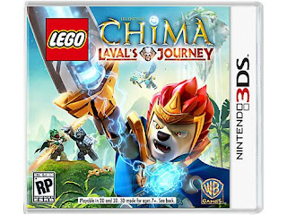 LEGO Legends of Chima: Lavals Journey, 3DS, Español, Mega, Mediafire