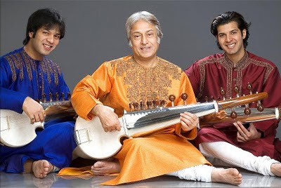 Amjad Ali Khan with Ayaan Ali Khan