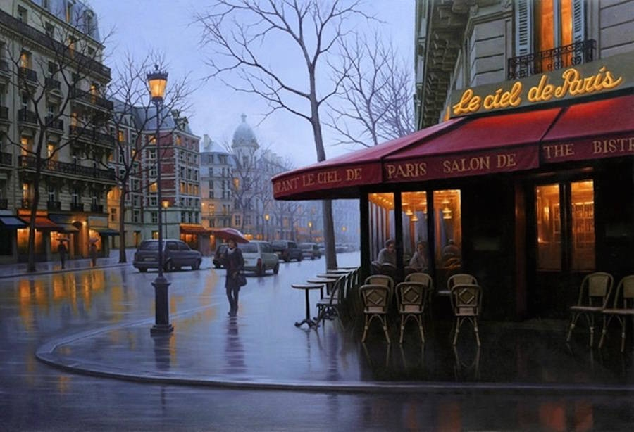 15-Alexey-Butyrsky-Architecture-in-Paintings-of-Cityscapes-at-Night-www-designstack-co
