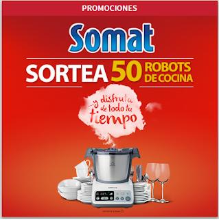 somat sorteo de 50 robots de cocina