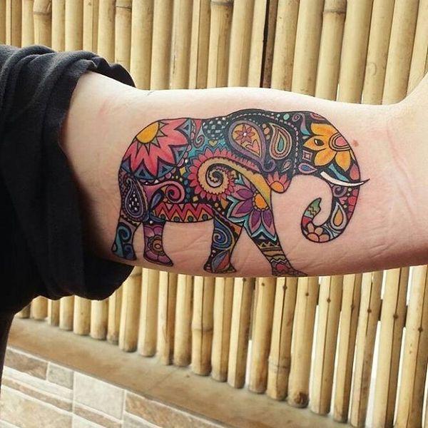Tatuagens de elefante