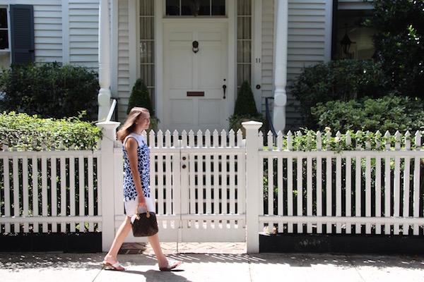 Gimme Glamour: Draper James Vidalia Vine shift dress in Charleston