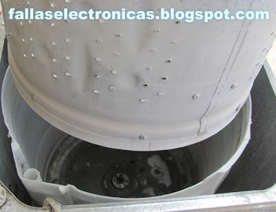 limpìesa de tina de lavado