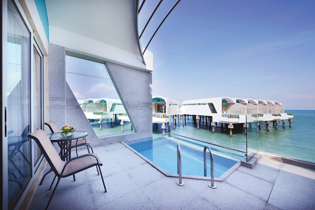 Panorama Pool Villa (Sea View) - Lexis Hibiscus Port Dickson - Salika Travel - Short Getaway Package @ Lexis Hibiscus Port Dickson