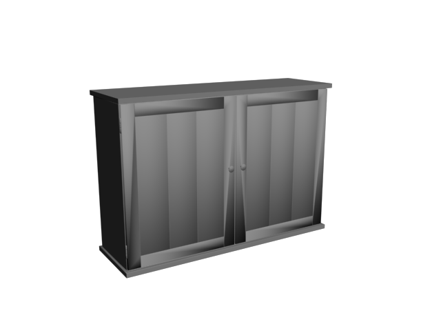 İki Kapaklı Dolap 3D Model