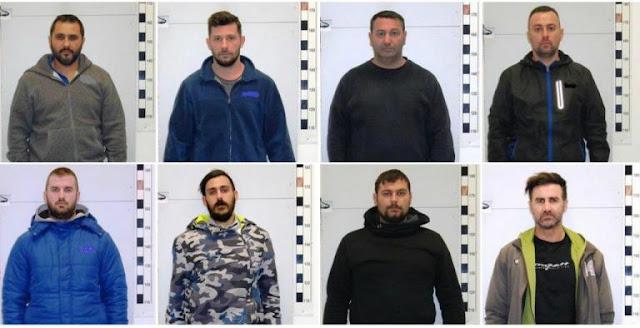 ΔΕΙΤΕ ΤΙΣ ΦΩΤΟ ! Αυτά είναι τα μέλη της σπείρας που έκλεβαν πολυτελείς μηχανές μεγάλου κυβισμού [
