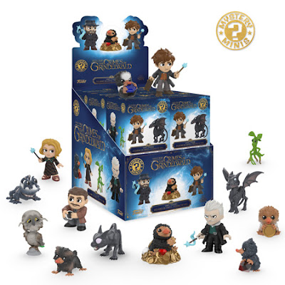 Collect Mystery Minis of Newt, Fwooper, Niffler, Baby Niffler, and more!