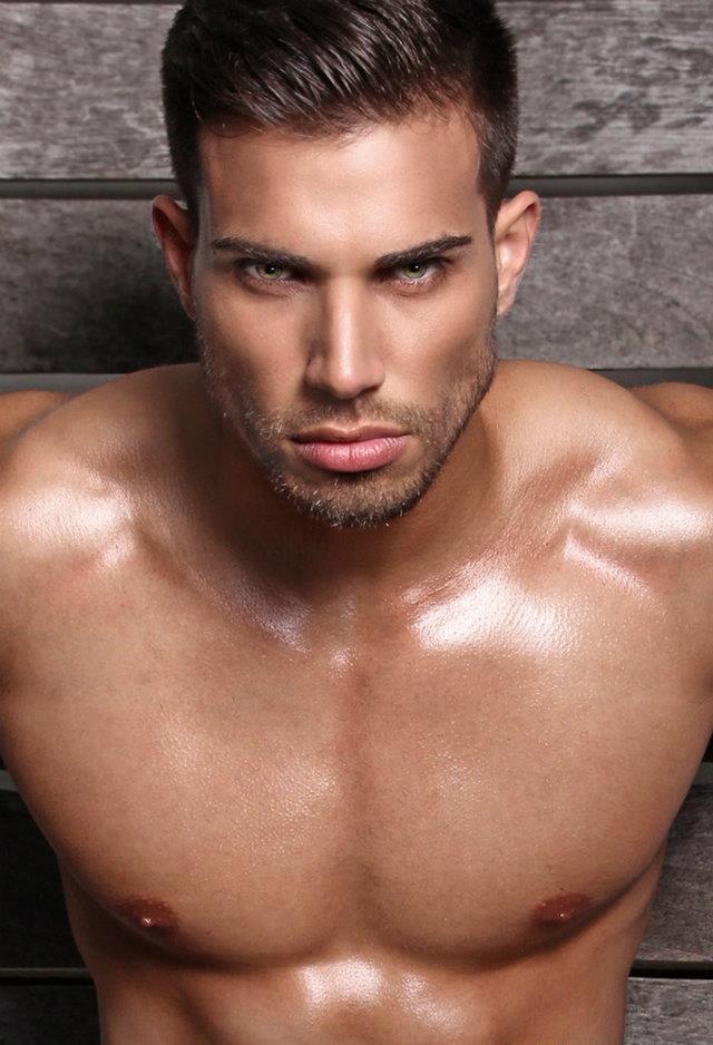 Amateur male model