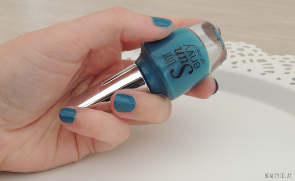 revue avis test unt ünt sun envy vernis top coat