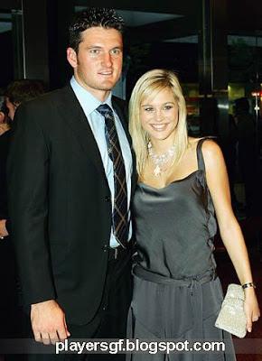 Graeme Smith and his wife Morgan Deane photos