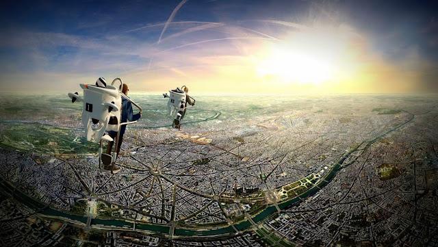 FlyView lo lleva volando sobre París en una atracción de realidad virtual única