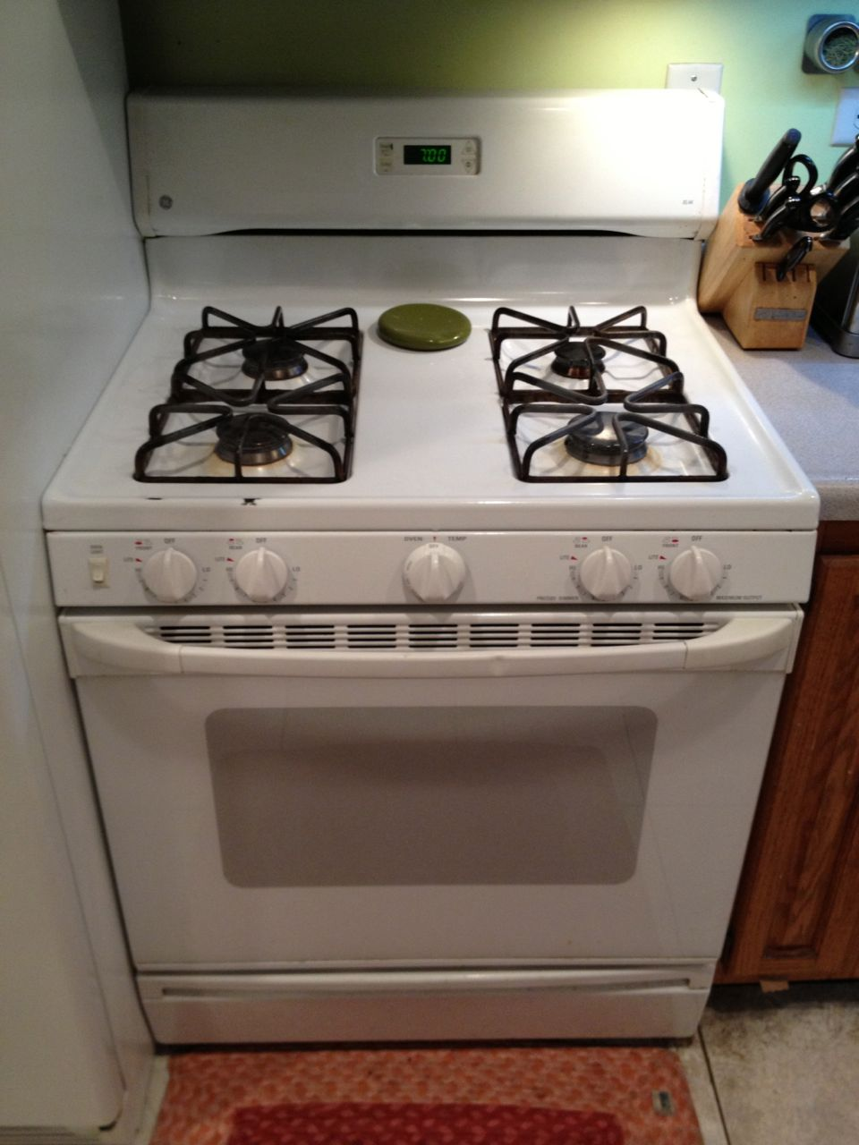 Ge Xl44 Gas Stove Manual Images