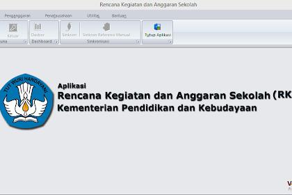 Download Aplikasi RKAS Kemdikbud 2019 Lengkap Dengan Buku Panduan