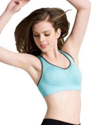 Fittin wire free seamless cheap padded sports bra