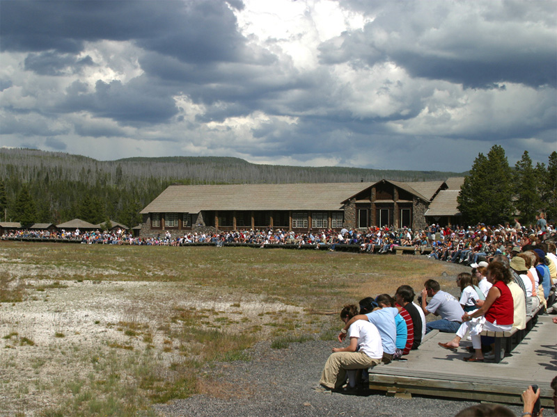 While The July And August Weather In Yellowstone Is Beautiful Also Life Fully Stride Crowds Are Often A Little Overwhelming Over One 5