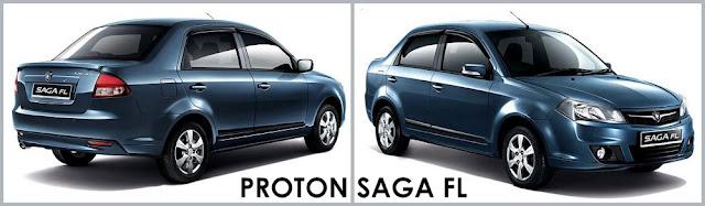 Model Kereta Proton Saga FL