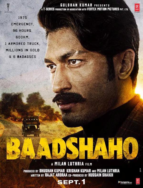 baadshaho first look vidhyut jamwal