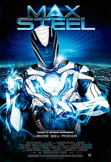 "Poster do filme ""Max Steel"""