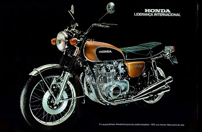 propaganda Moto Honda - 1971