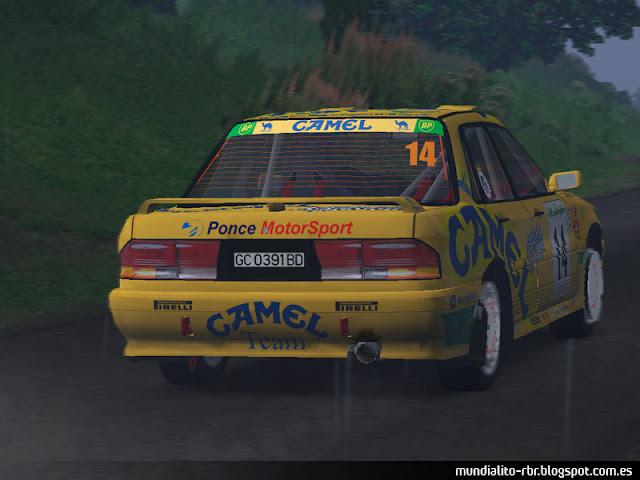 Toñi Ponce Rally El Corte Ingles 1996