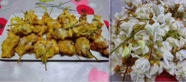 pâte à frire dessert pâtisserie beignets de fleurs d'acacias