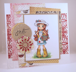 Heather's Hobbie Haven - Gardening Girl Card Kit