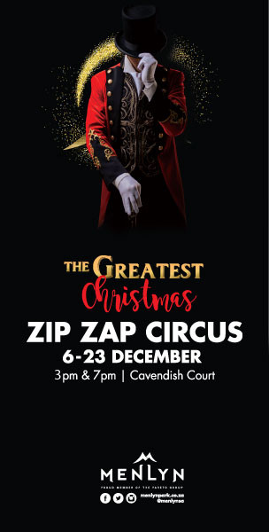 Zip Zap Circus at Menlyn banner