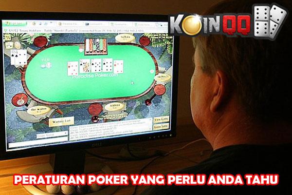 Aturan Bermain Poker yang Perlu Anda Tahu