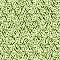 Textured Knitting 09: Lattice - Easy To Knit