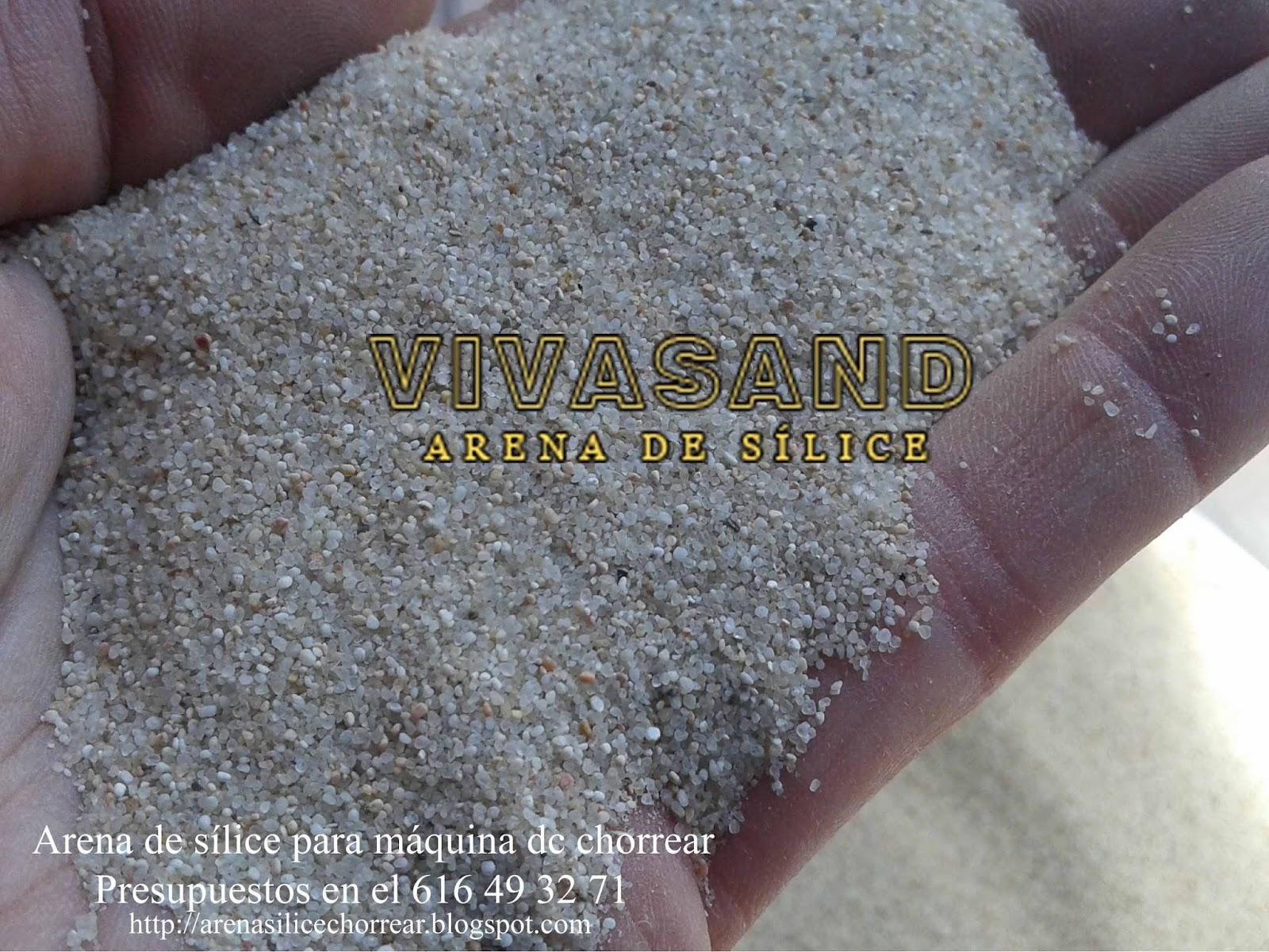 Arena de s lice para chorreo arena para limpieza de metales - Limpiador de metales ...