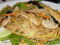 Vegetarian Mixed Pansit Guisado
