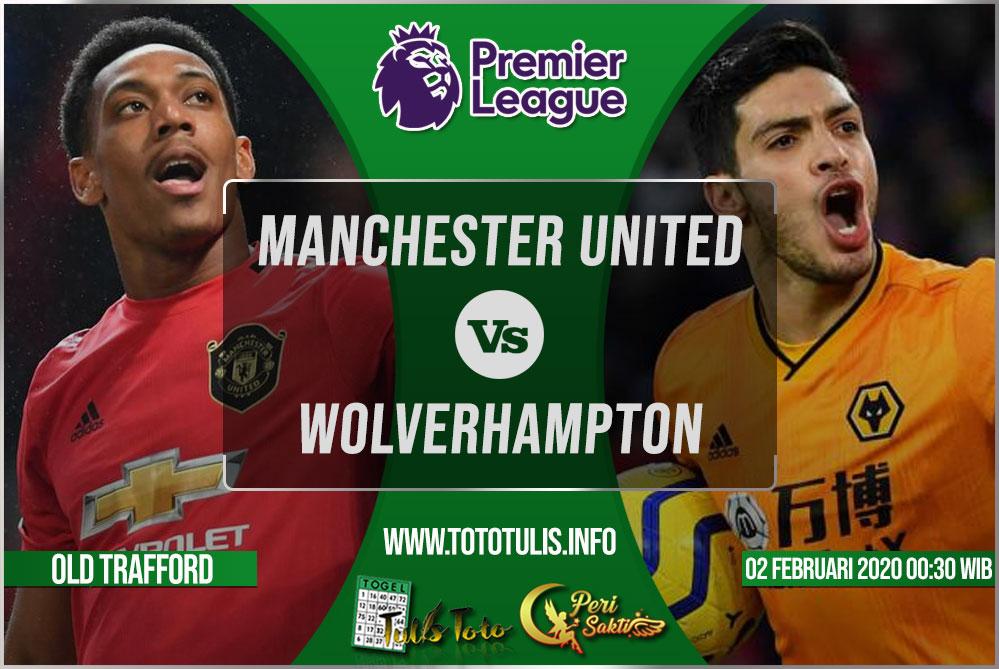 Prediksi Manchester United vs Wolverhampton 02 Februari 2020