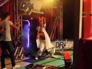 Sabu sullo stage di XIW Draw!
