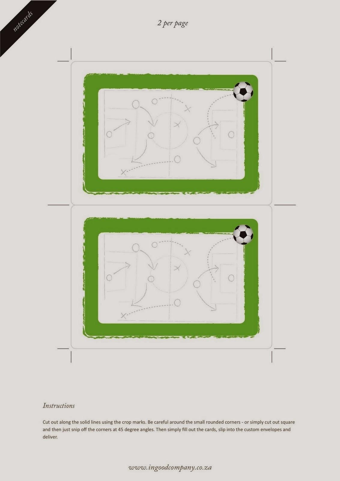 Kit para Fiestas de Futbol, para Imprimir gratis. | Ideas y material ...