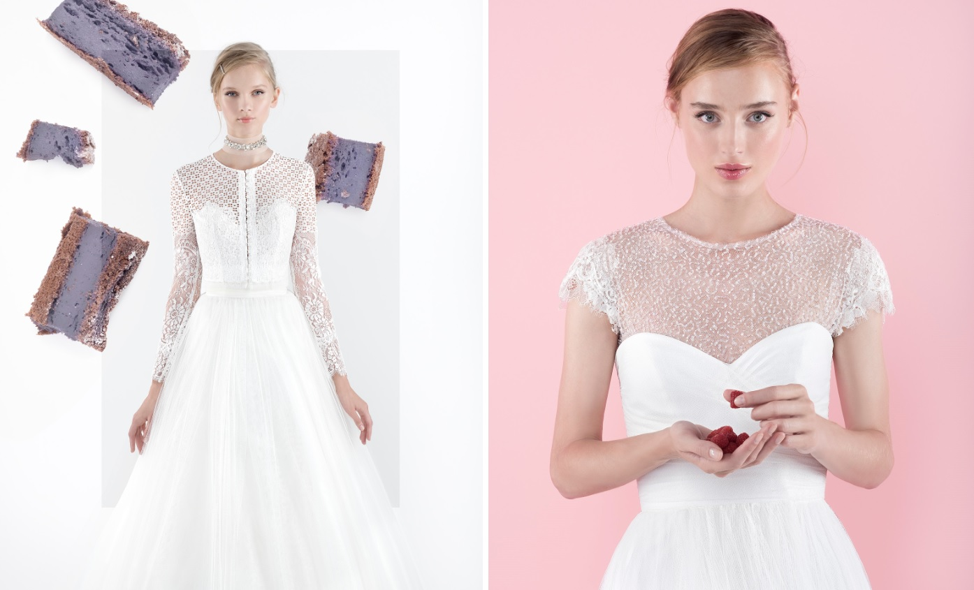 Contemporary Patron Vestido Novia Vignette - Wedding Dress Ideas ...