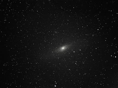 Messier 31 andromeda 300mm