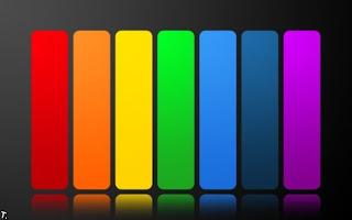 Ojo con los colores del arco iris